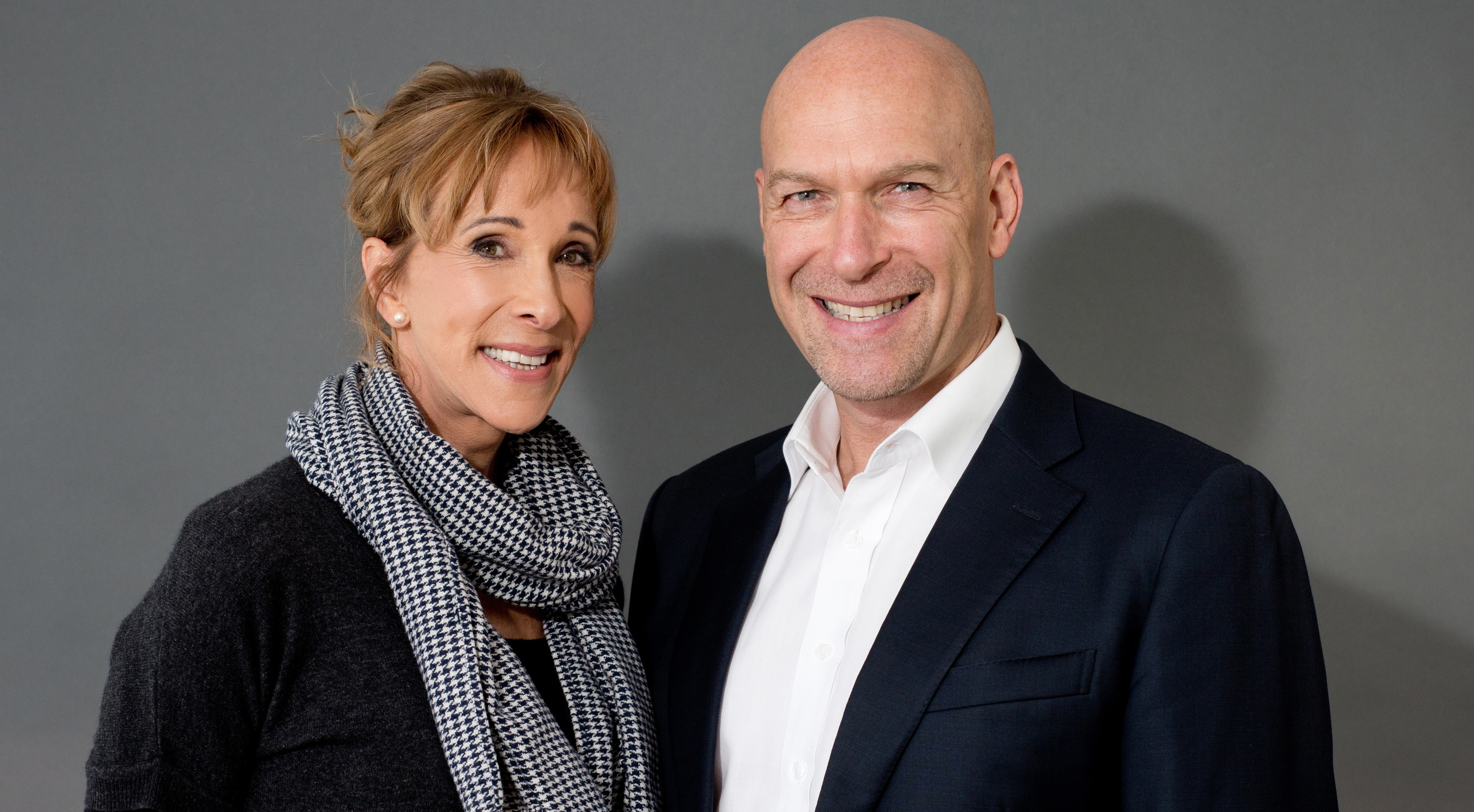 """Executive Longevity Specialist"" Tim Bean with his partner, Anne Laing"